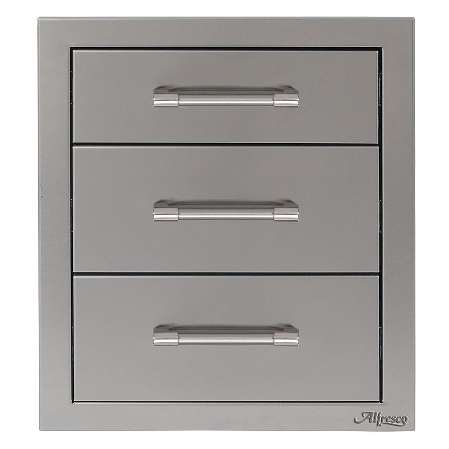 Alfresco 17-Inch Triple Access Drawer