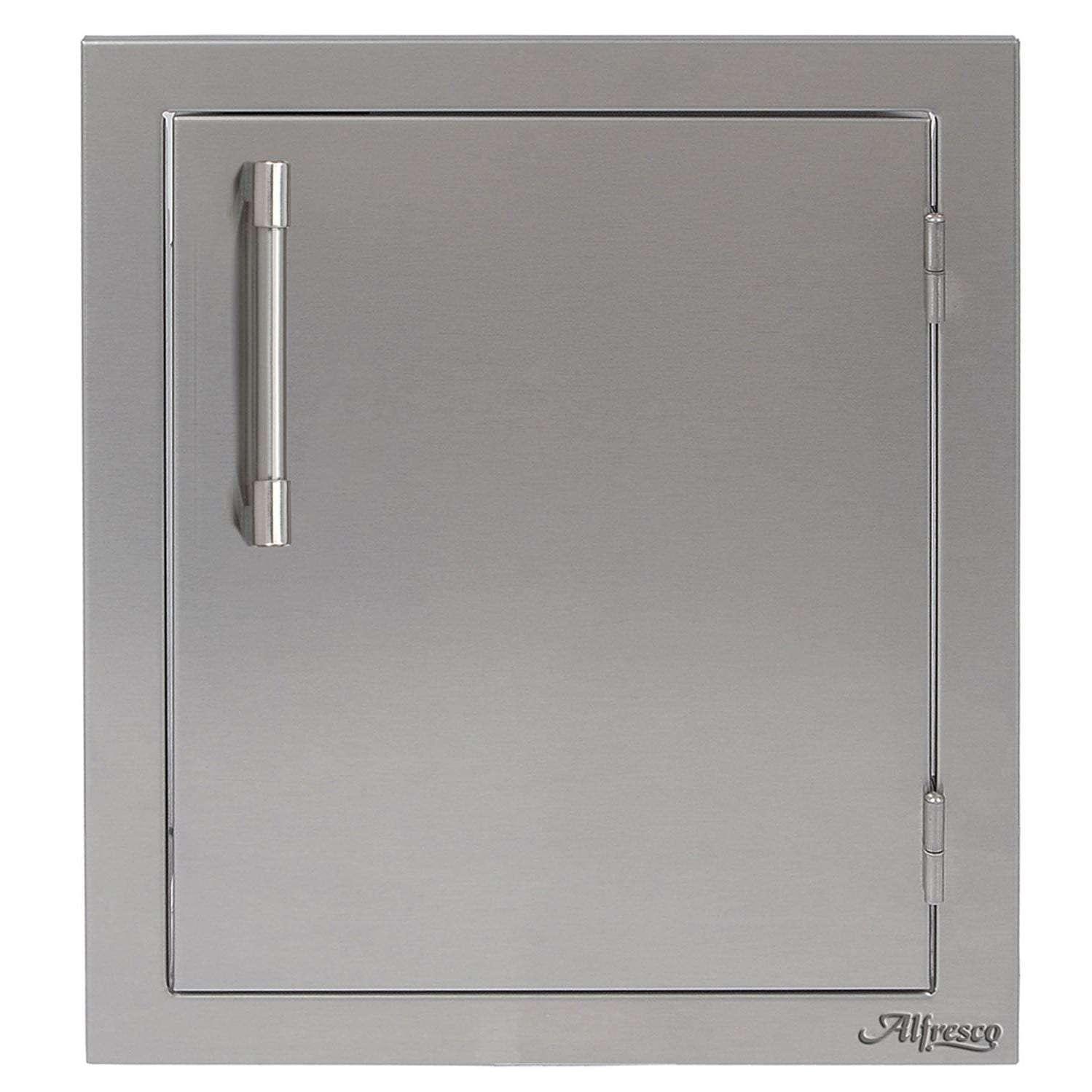 Alfresco 17-Inch Right-Hinged Vertical Single Access Door