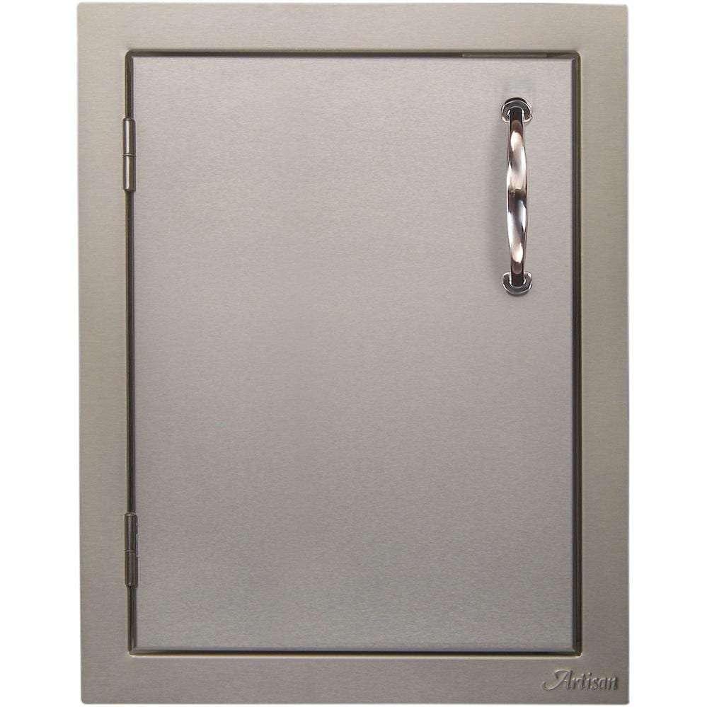 Alfresco 17-Inch Left Hinged Single Access Door