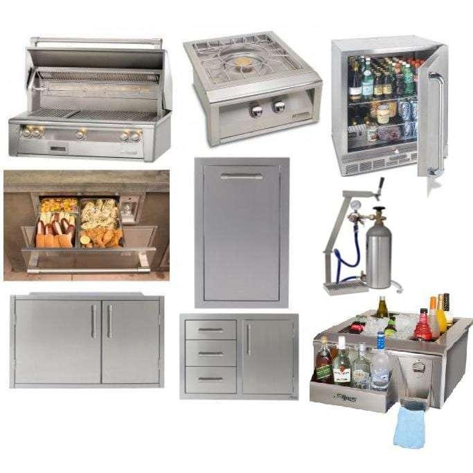 Alfresco 8-Piece Outdoor Kitchen Package
