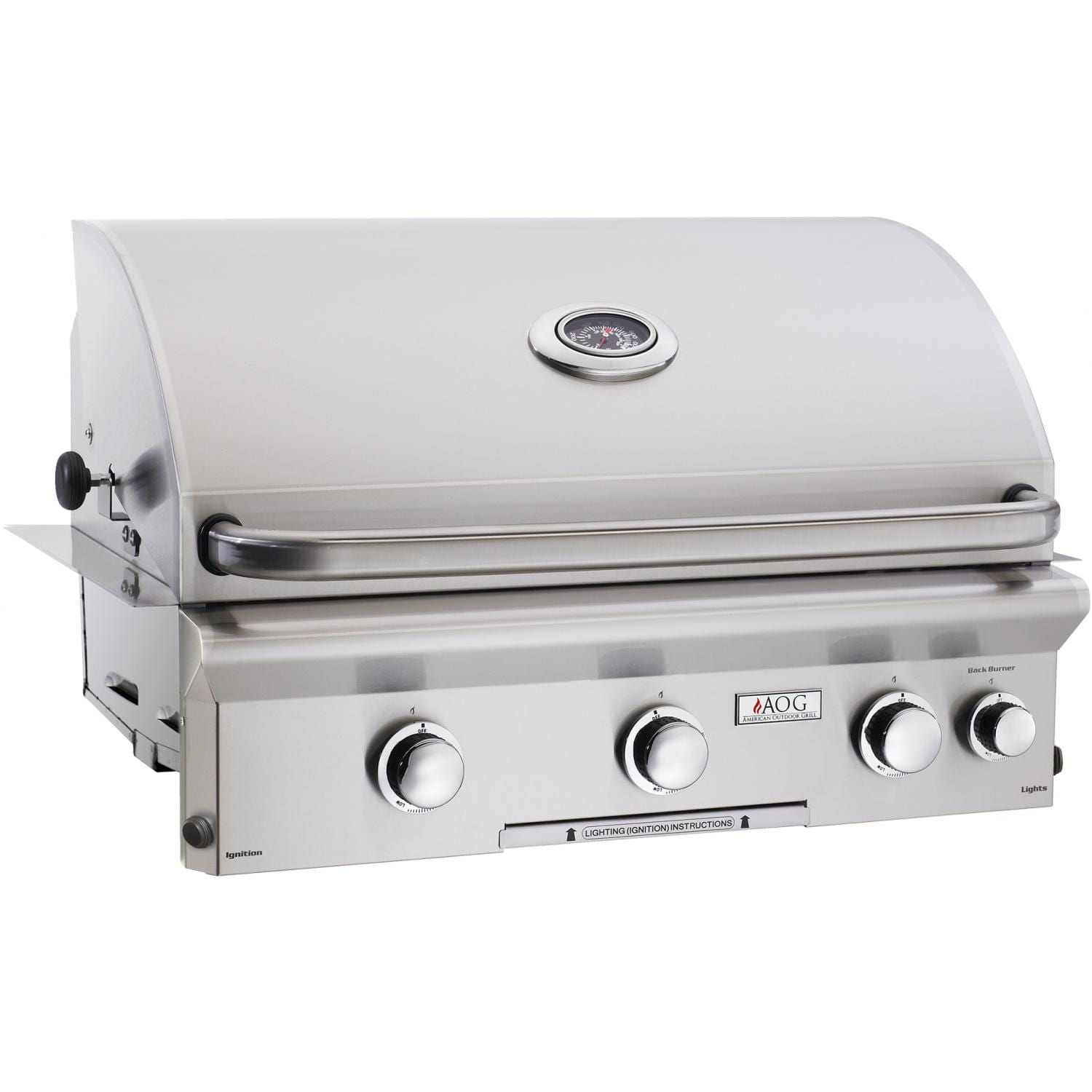 American Outdoor Grill L-Series 30-Inch 3-Burner Grill Plus Rotisserie