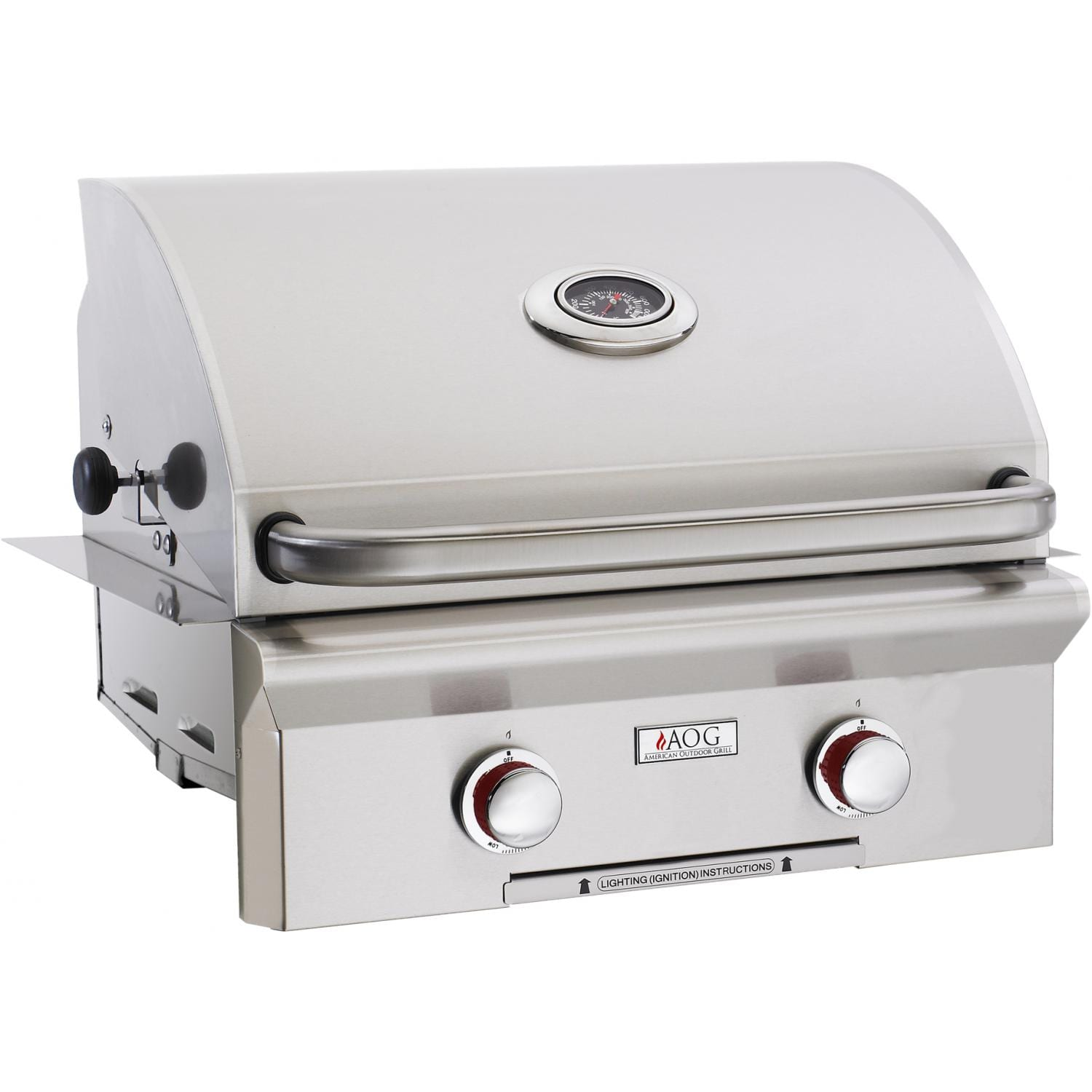 American Outdoor Grill T-Series 24-Inch 2-Burner Built-In Propane Gas Grill - 24PBT-OOSP