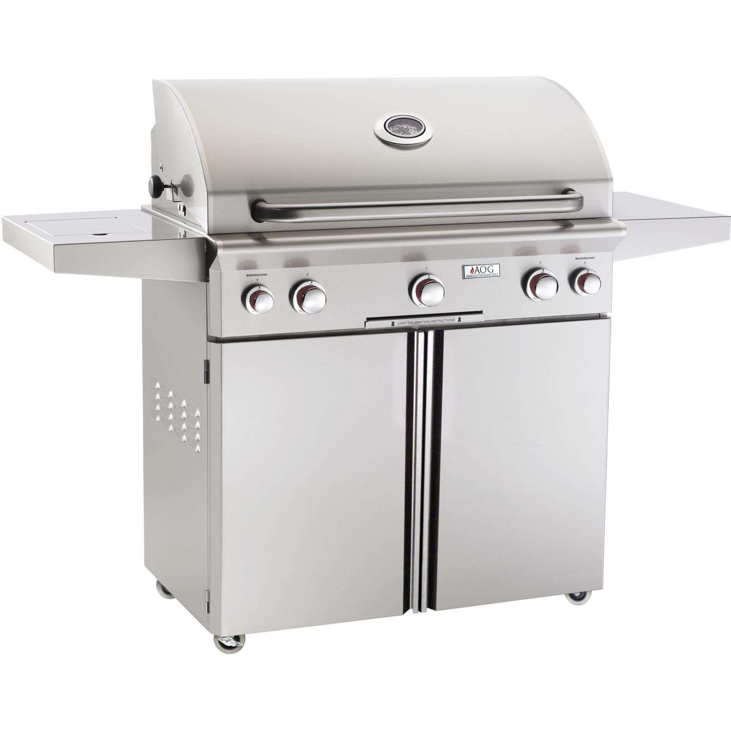American Outdoor Grill 36-Inch Grill Plus Rotisserie Plus Side Burner