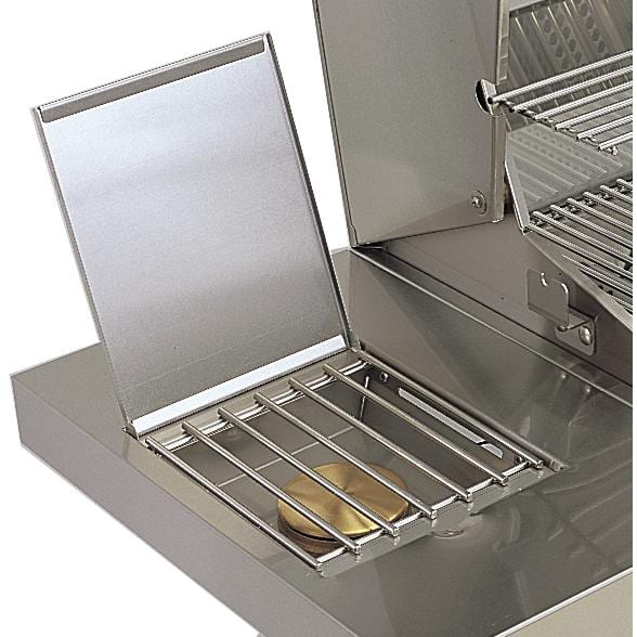 American Outdoor Grill 36-Inch 3-Burner Gas Grill - Built-In Single Side Burner