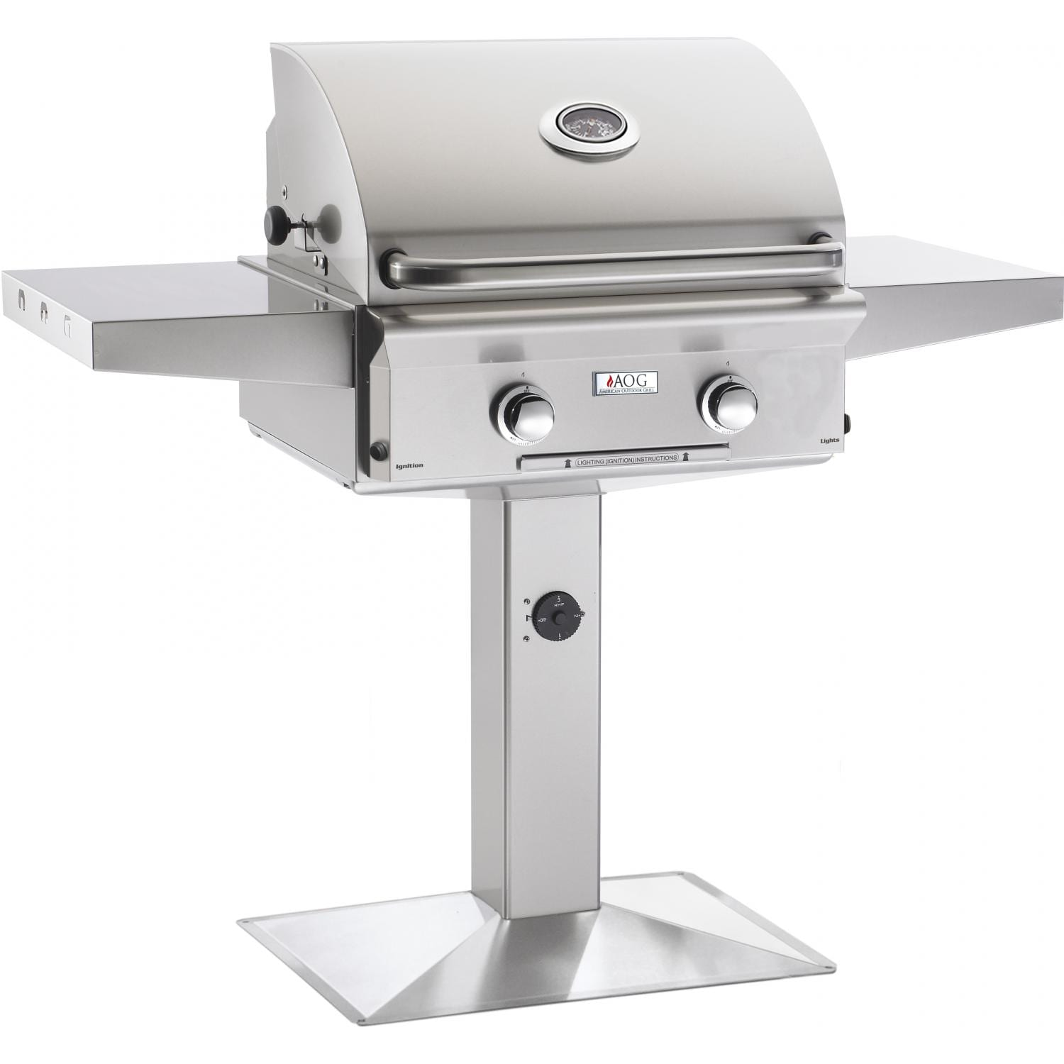 American Outdoor Grill L-Series 24-Inch Freestanding Pedestal Gas Grill