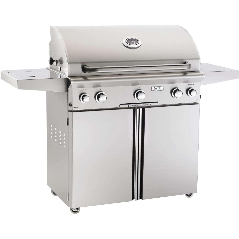 AOG 36-Inch Freestanding Plus Rotisserie Plus Burner