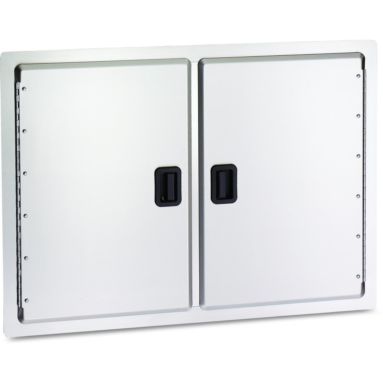 AOG 30-Inch Latch Handle Double Access Door