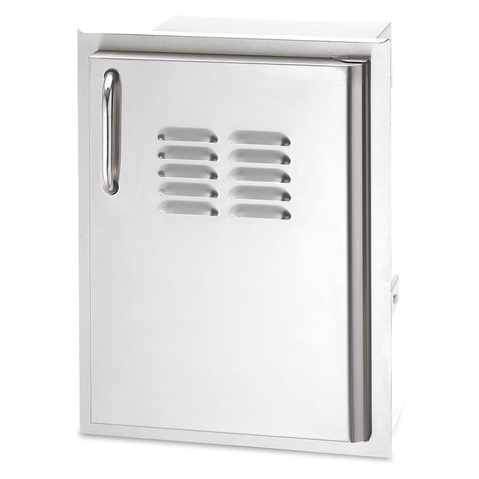 American Outdoor Grill 14-Inch Vertical Access Door Plus Tray