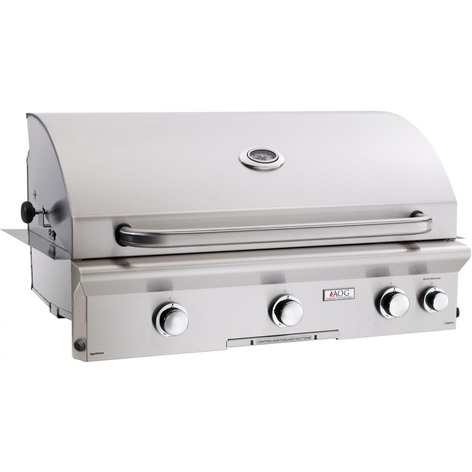 American Outdoor Grill L-Series 36-Inch 3-Burner Grill Plus Rotisserie