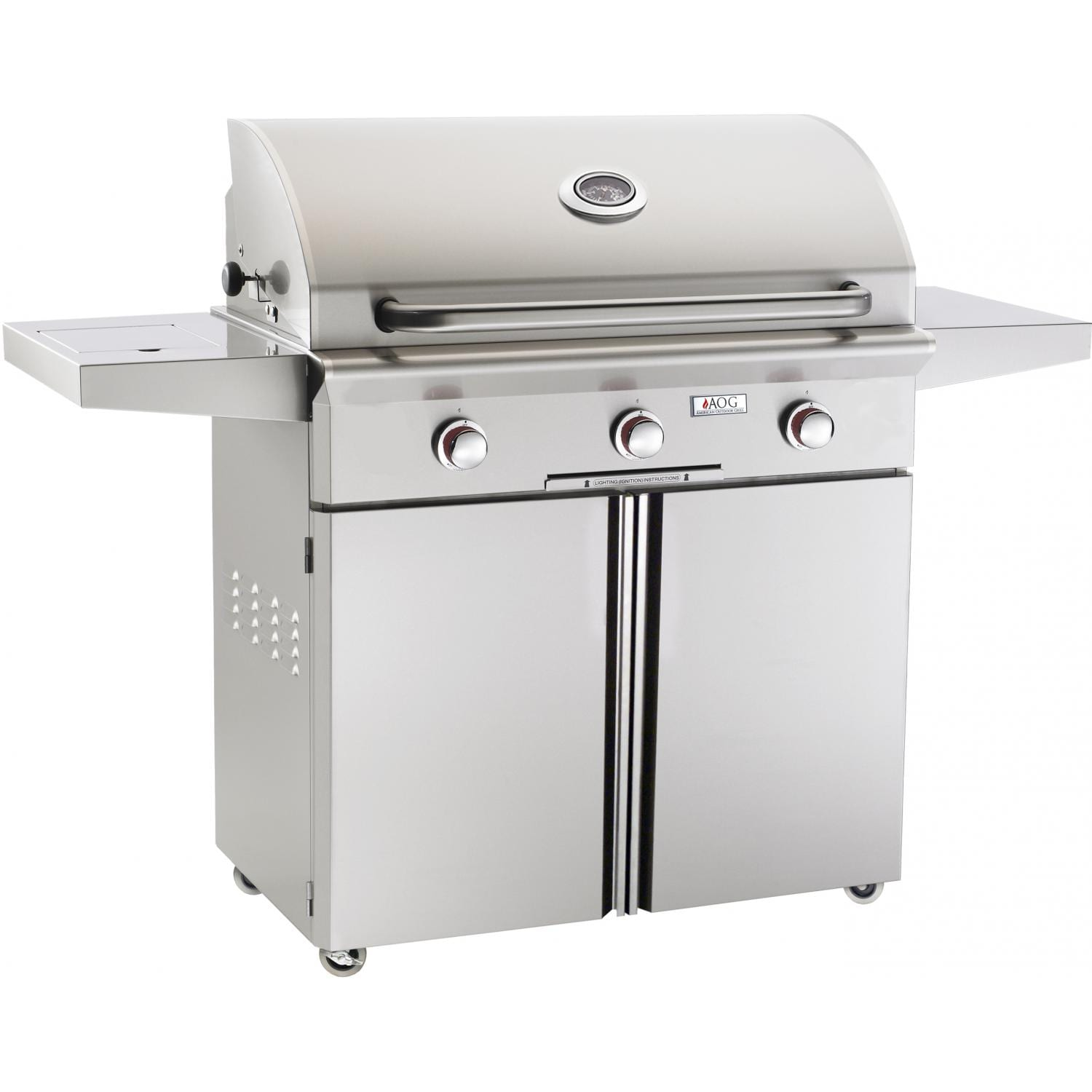 American Outdoor Grill T-Series 36-Inch 3-Burner Freestanding Grill
