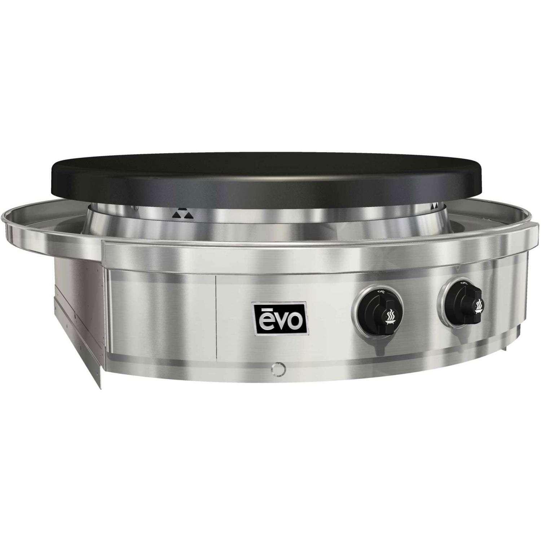 EVO Built-In Flat Top Grills