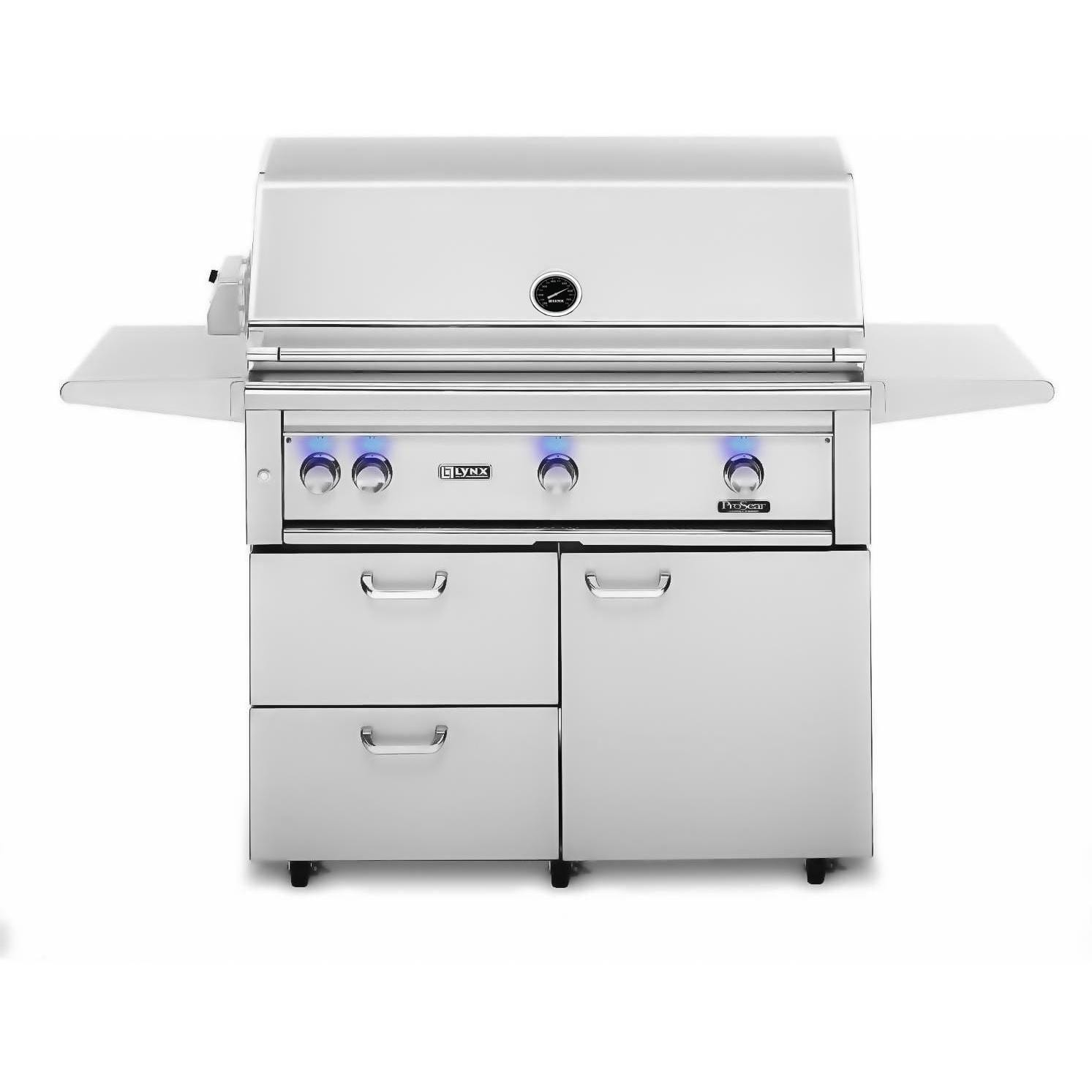 Lynx 42-Inch Natural Gas BBQ Grill Plus Rotisserie