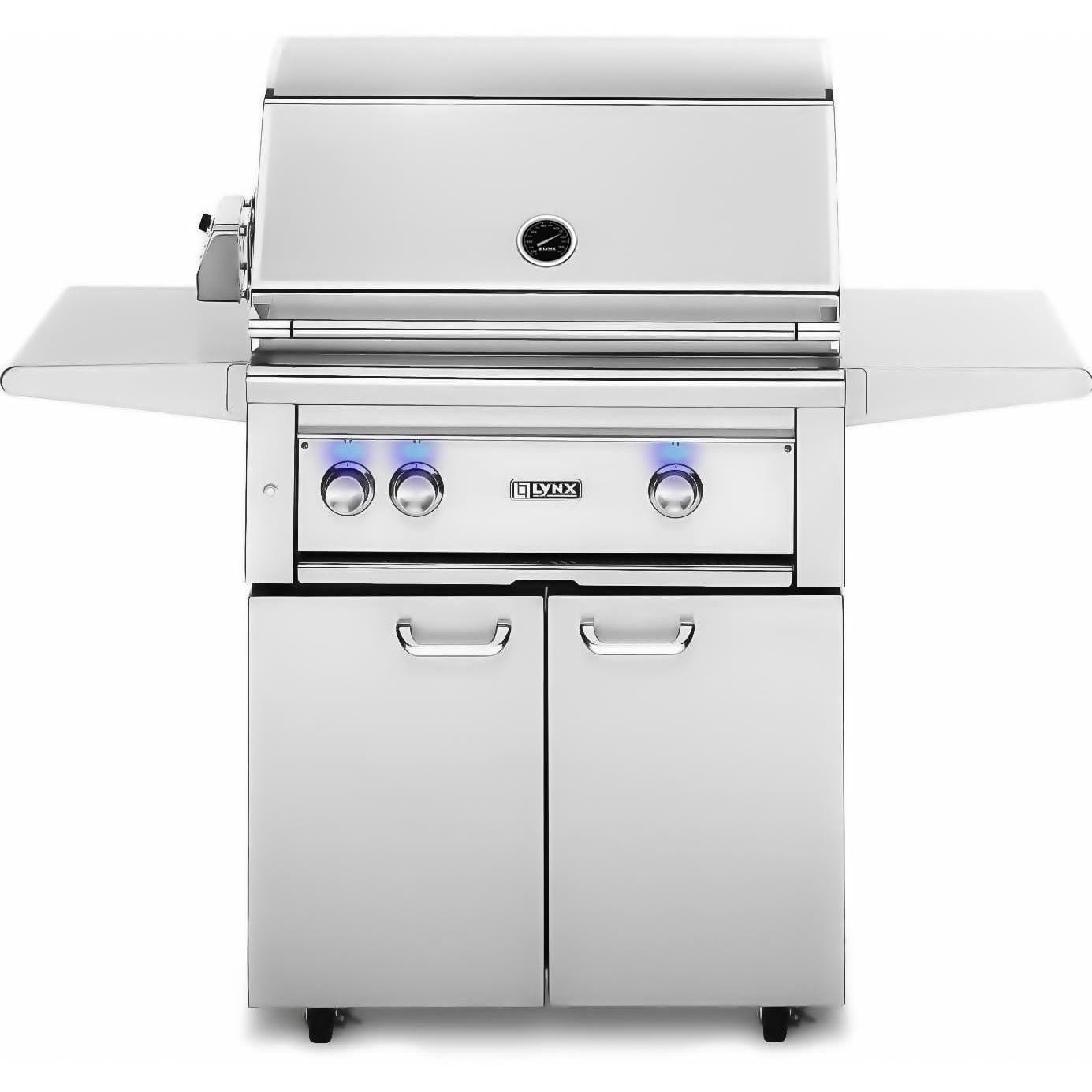 Lynx 30-Inch Natural Gas BBQ Grill Plus Rotisserie