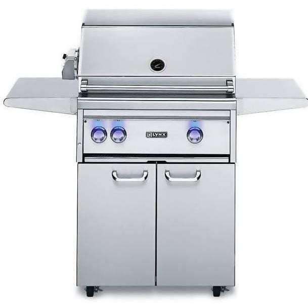 Lynx 27-Inch Propane Gas BBQ Grill Plus Rotisserie