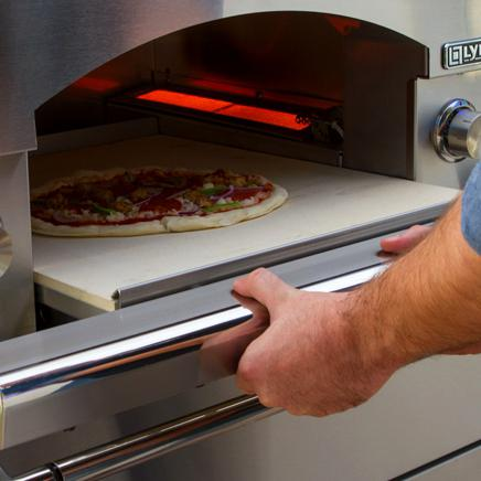 Lynx Napoli 30-Inch Counter Top/Built-In Pizza Oven - Pull-Out Baking Stone