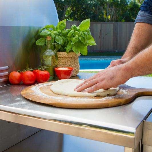 Lynx Napoli Freestanding Pizza Oven - Prep Area