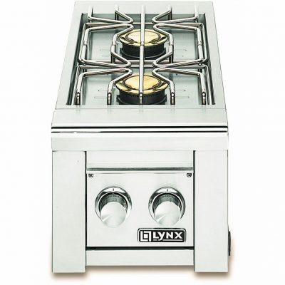 Lynx Double Natural Gas Side Burner LSB2-2-NG