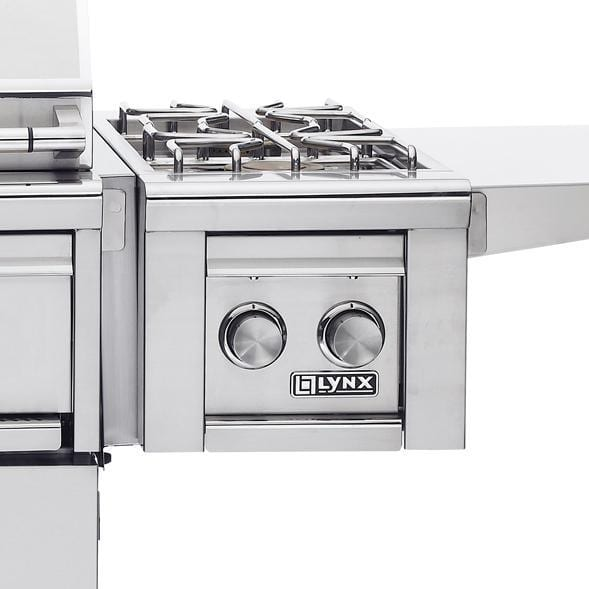 Lynx Natural Gas Double Side Burner For Freestanding Grills - LCB2-3-NG