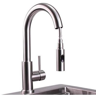 Lynx Professional Outdoor Rated Single-Handle Gooseneck Faucet