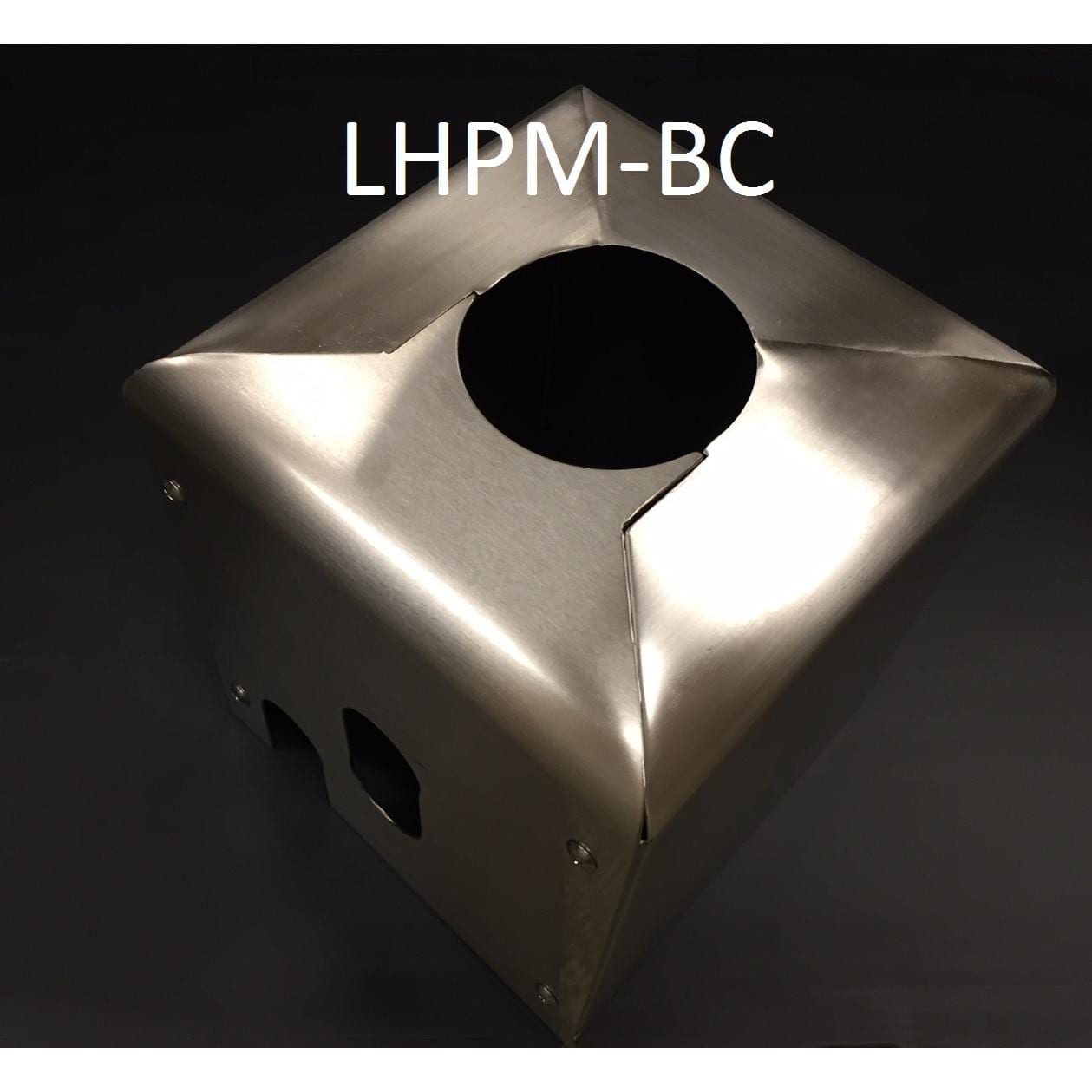 Lynx Post Mount Heater Base Mounting Cover