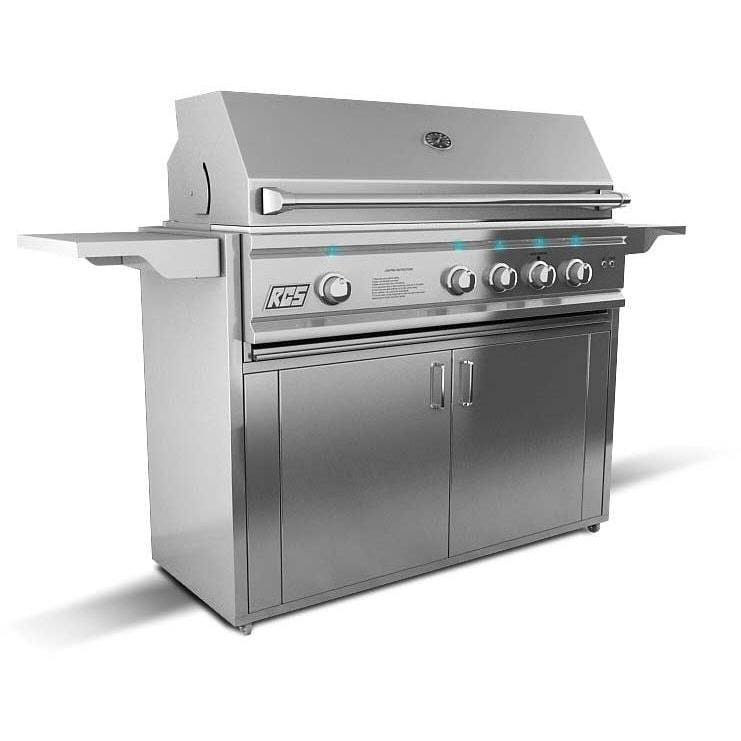 RCS Cutlass Pro 42-Inch Natural Gas Freestanding Grill - RON42A-NG + RONJC