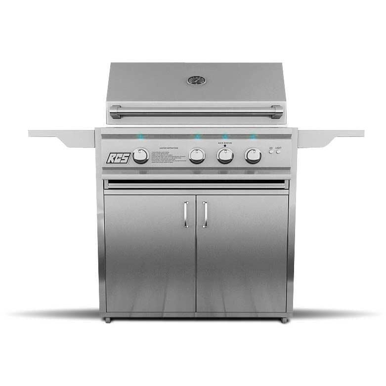 RCS Cutlass Pro 30-Inch Natural Gas Freestanding Grill