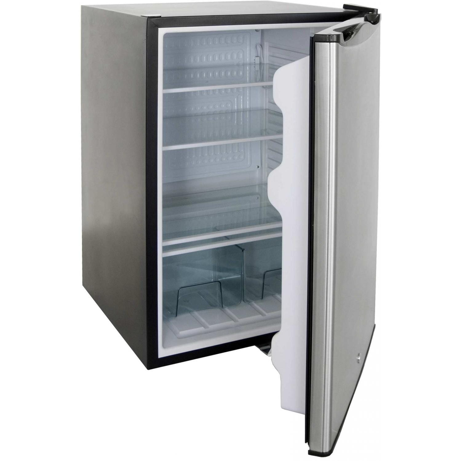 Rcs 21 Inch 4 5 Cu Ft Outdoor Compact Refrigerator With Recessed Handle Stainless Steel Refr1a