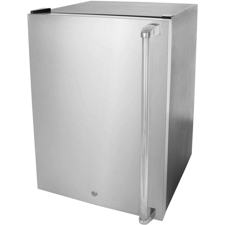 RCS 21-Inch Outdoor Left Hinge Refrigerator Plus Towel Bar Handle