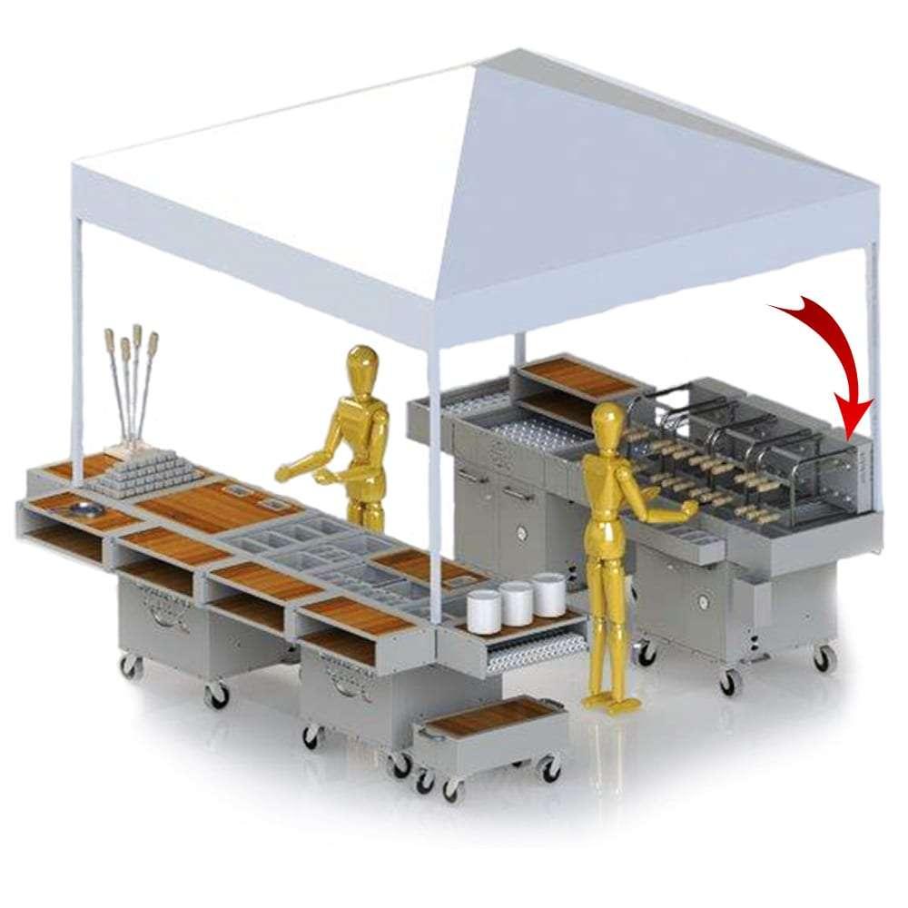 Carson Rodizio Kit - setup
