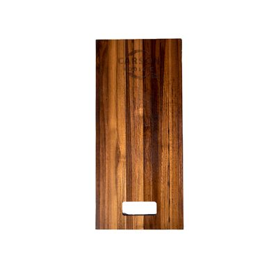 Carson Rodizio Roadcase Small Stainless Teak Cutting Board