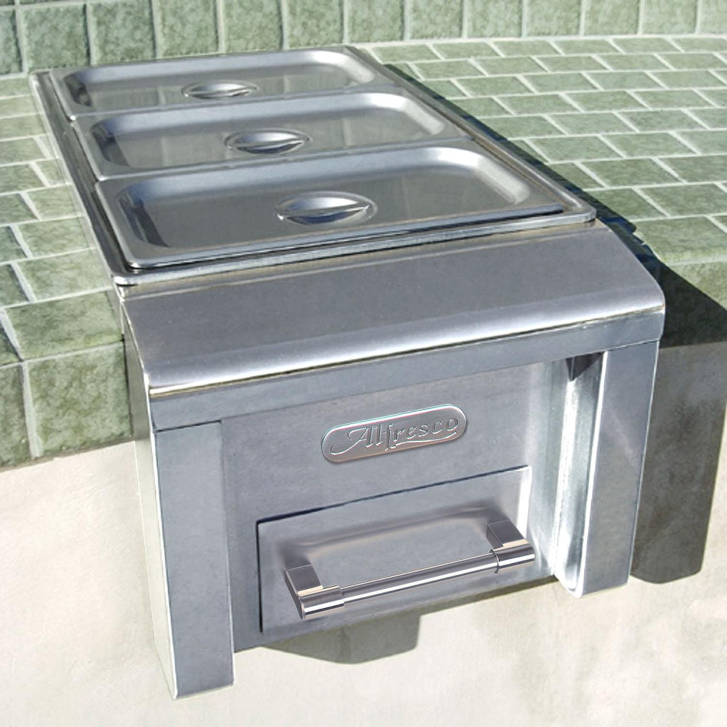 Outdoor Kitchen Food Warmers