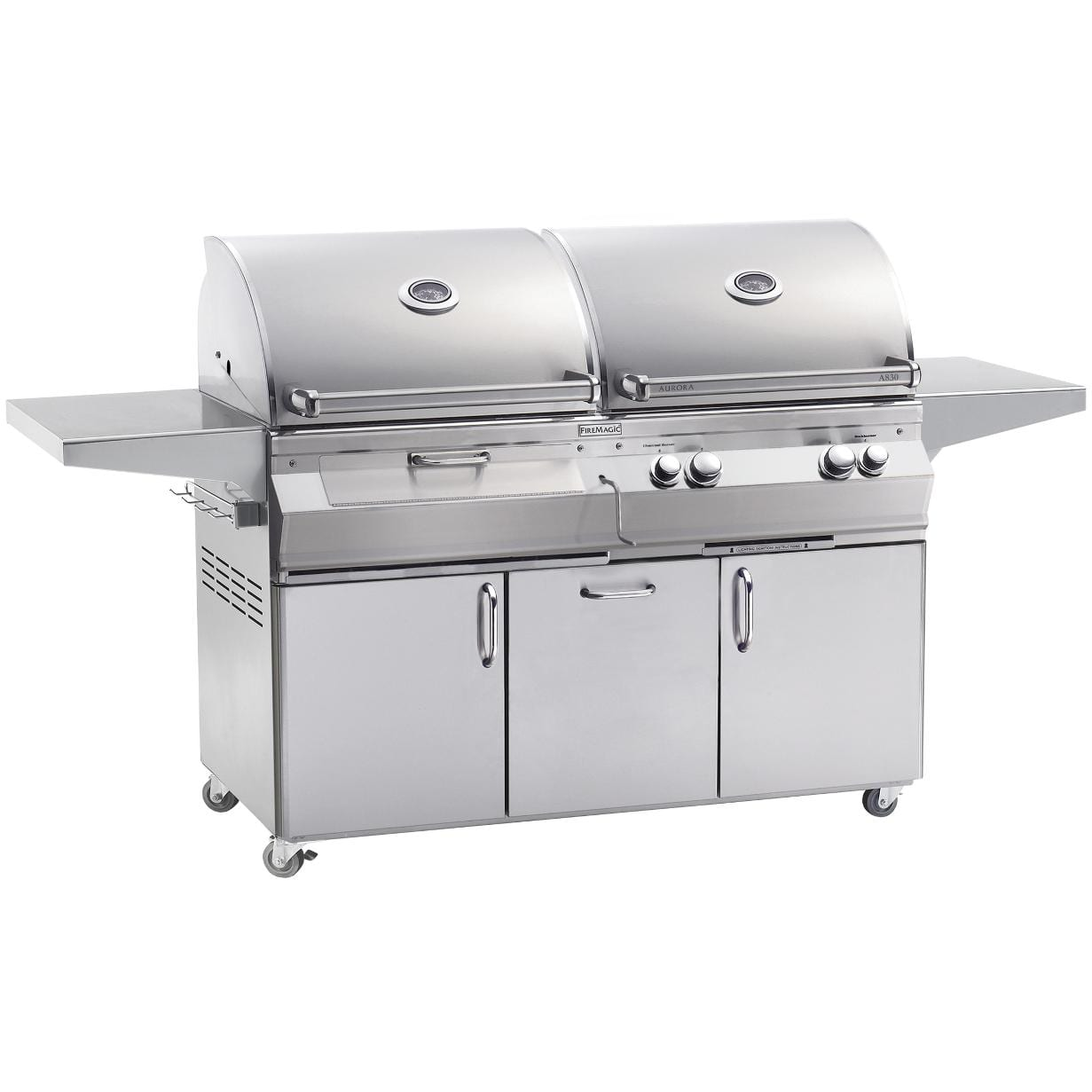 Gas & Charcoal Combo Grills