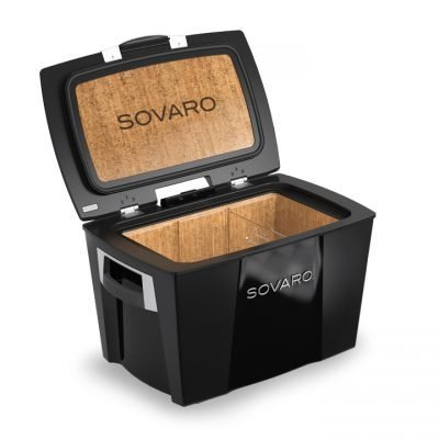 Sovaro 70 Quart Black Luxury Cooler