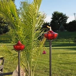 Starlite Patio Maui Grande Cranberry Garden Torches