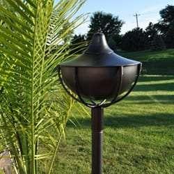 Starlite Patio Maui Grande Midnight Black Garden Torches