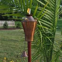 Starlite Patio Kona Deluxe Copper Burn Garden Torches