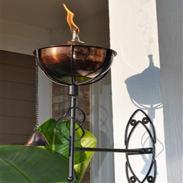 Starlite Patio Maui Grande Copper Burn Sconce Torches