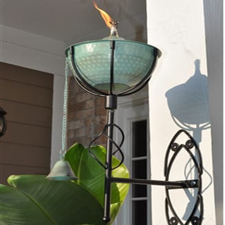 Starlite Patio Maui Grande Weathered Patina Sconce Torches