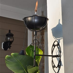 Starlite Patio Maui Grande Midnight Black Sconce Torches