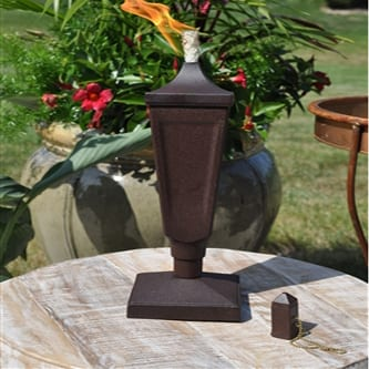 Starlite Patio Weathered Brown Classic Tabletop Torch
