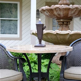 Starlite Patio Classic Tabletop Torch in Weathered Brown