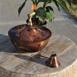 Starlite Patio Maui Gande Tabletop Torch in Copper Burn