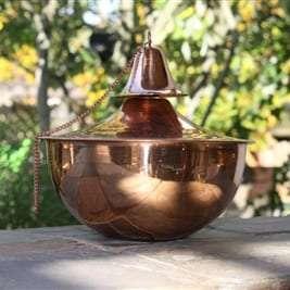 Starlite Patio Maui Grande Smooth Copper Tabletop Torch
