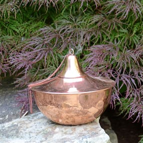 Starlite Patio Maui Gande Tabletop Torch in Smooth Copper