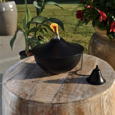 Starlite Patio Maui Grande Midnight Black Tabletop Torch