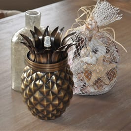 Starlite Patio Pineapple Antique Finish Tabletop Torch