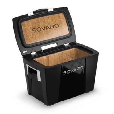Sovaro 45 Qt. Luxury Cooler - Black
