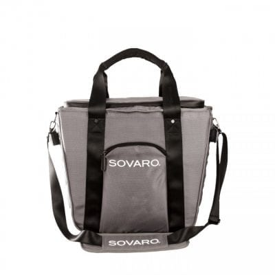 Sovaro 18 Inch Grey Soft-Sided Cooler