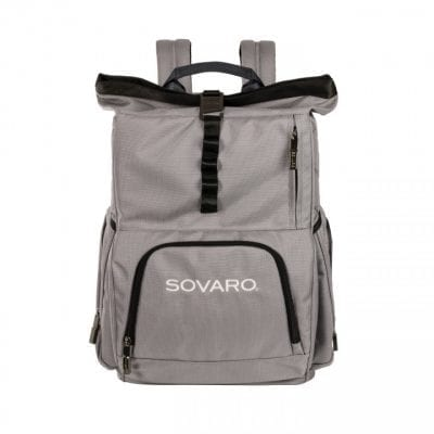 Sovaro Grey Backpack Cooler