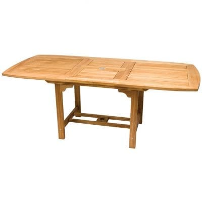Royal Teak Collection Medium Rectangular Family Expansion Table